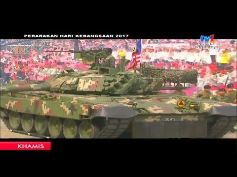 TV1 - Malaysia National Day Parade 2017 : Full Military Assets Segment [720p]