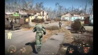 Fallout 4 ЛУЧШАЯ и САМАЯ РЕДКАЯ силовая броня X 01 АНКЛАВА как найти делаем глаза КРАСН