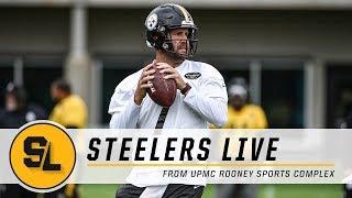 Practice Report, Ben Roethlisberger on Steelers Live | Pittsburgh Steelers