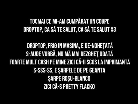 BLANCO - DropTop feat. Bvcovia & Lentile Blur (VERSURI LYRICS)