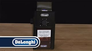 De'Longhi How To Grind Espresso Coffee KG79 Burr Grinder