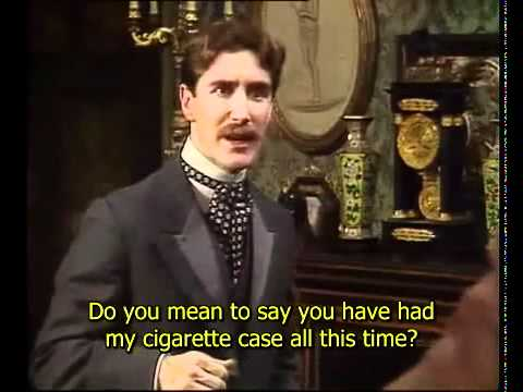 The Importance of Being Earnest -  Act 1 Pt 1(English Close Captioning)