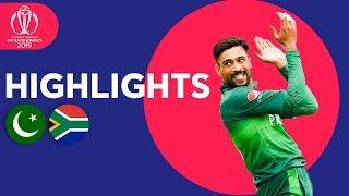 Haris Sohail Hits 89! | Pakistan Vs South Africa   Match Highlights | Icc Cricket World Cup 2019