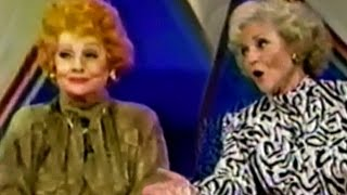 Lucille Ball, Betty White on Super Password 1986 - part 2