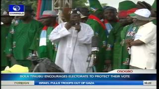 Osun Guber Election: APC Holds Mega Rally Pt.12