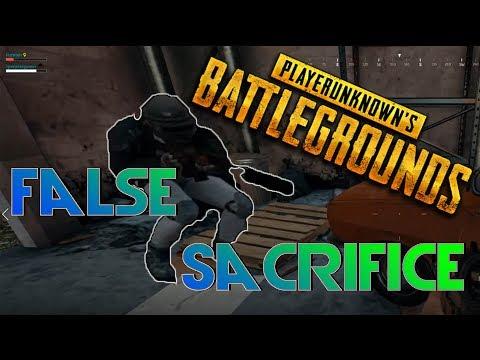 false sacrifice