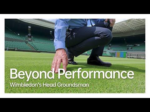 Wimbledon's Head Groundsman | Beyond Performance#Wimbledon