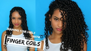 Transitioning: Training Your Curls with Finger Coils