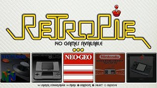 Huge RetroPie 4.4 Collection - 50+ Systems