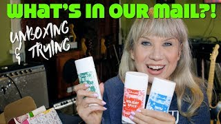 What's In Our Mail? Unboxing & Trying Vegan Stuff