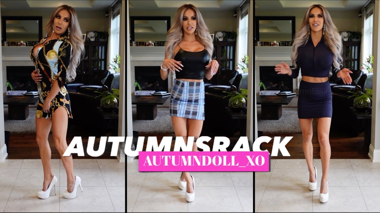 Fashion Nova Haul 3 new pieces! Fitness Bikini Model Autumn Blair | AutumnDoll | Dress and Skirts