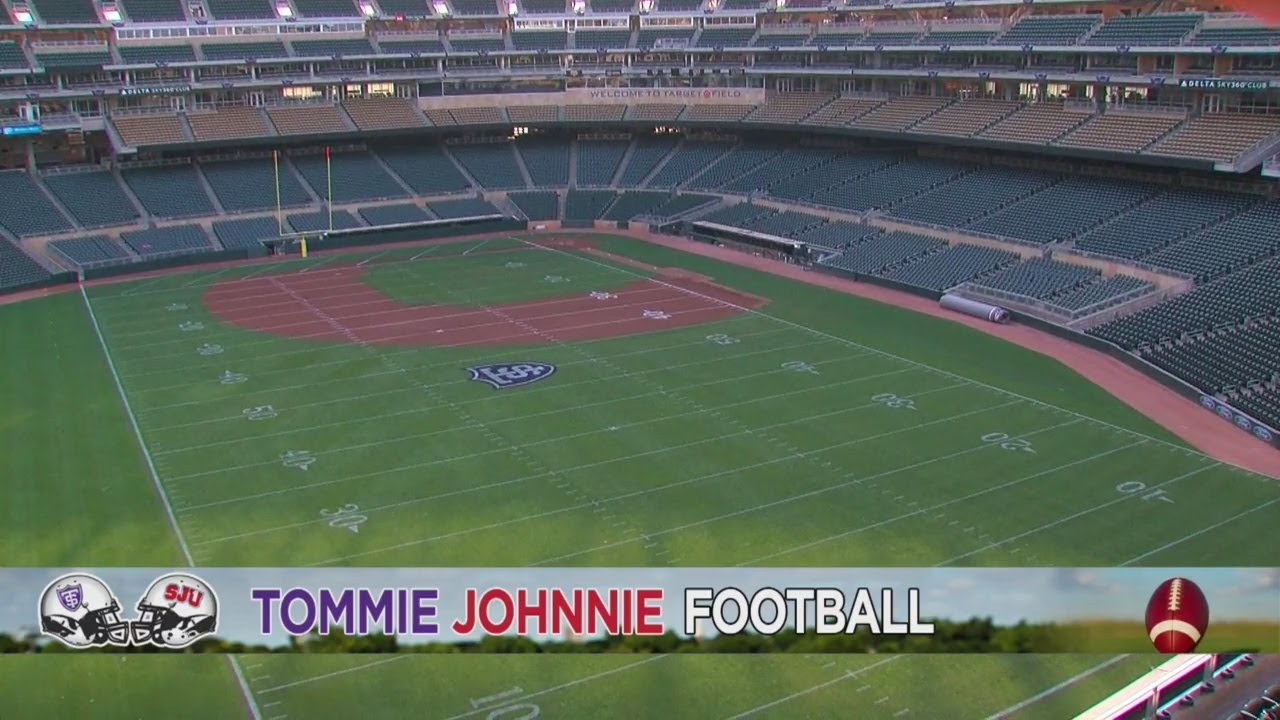 Target Field Transformed For Tommie Johnnie Football Game