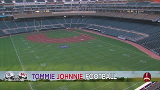 Target Field Transformed For Tommie-johnnie Football Game