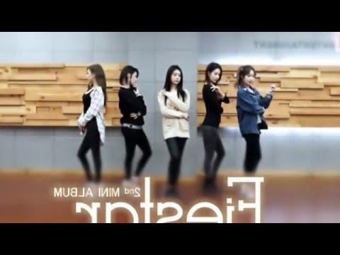 開始Youtube練舞:Mirror-FIESTAR | 慢版教學