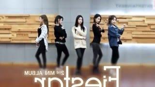 FIESTAR 'Mirror' mirrored Dance Practice