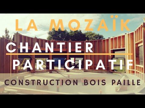 Construction Bois Paille / Ossature Bois