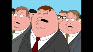 Family Guy Peter Griffin National Anthem of Fat People