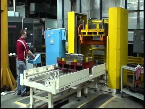 Titan Die Splitter 2643 12000 lb Capacity Splitter on site