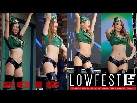 LOWFEST2018 JDM USDM STANCE VIP【B.P.M.JAPAN】サイバージャパンダンサーズ