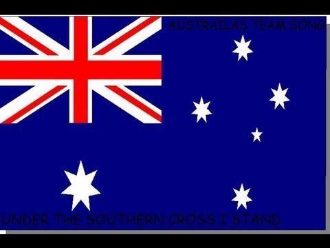 Cricket Australia's Team Song Under The Southern Cross I Stand - Lyrics