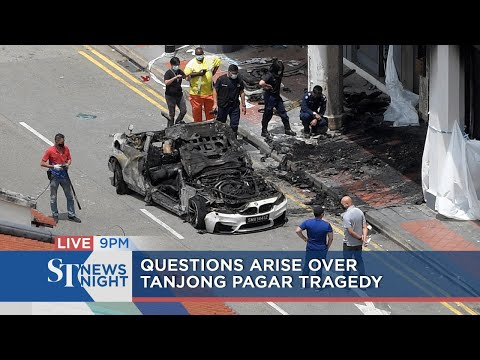 Questions arise over Tanjong Pagar tragedy | ST NEWS NIGHT