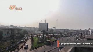 Time Lapse Video of a Popular Bus-Stop @ Agege in Lagos Nigeria