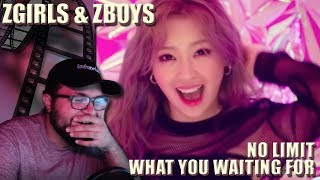 Z-Girls & Z-Boys - What You Waiting For & No Limit MV REACTION!!! | I Ran Out Of Adjectives LOL