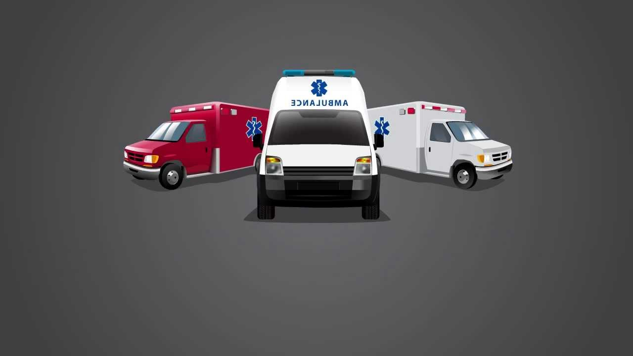 Custom Animated Video By Logo Design Pros For Ambulance