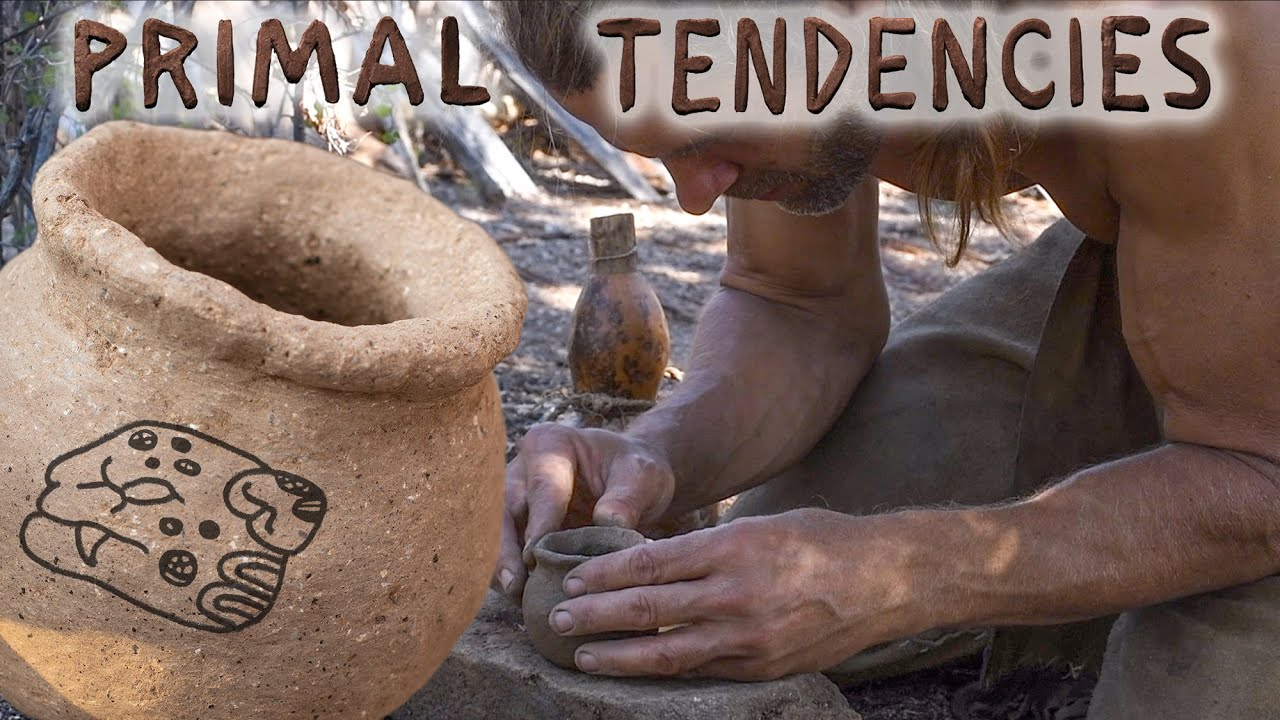 Primitive Pottery with New Clay (episode 11)