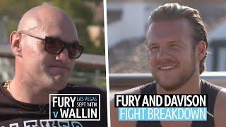 Tyson Fury and Ben Davison breakdown Otto Wallin fight