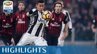 Juventus - Milan - 2-1 - Highlights -  Tim Cup 2016/17