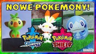 8 GENERACJA! NOWE GRY: Pokemon MIECZ i TARCZA!