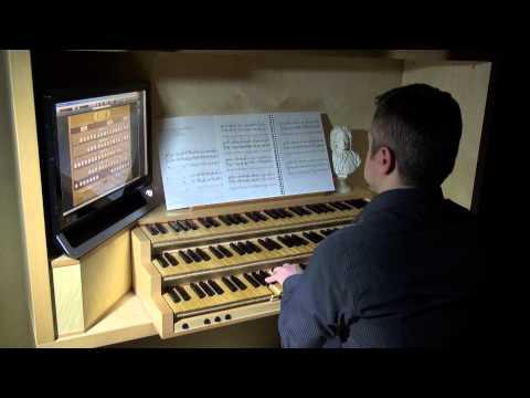 Olivier Messiaen - Livre du Saint Sacrement (I. Adoro te) (Luca Massaglia, organ)