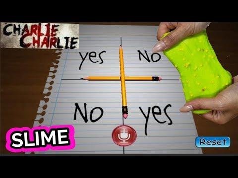 Charlie Charlie elije mi Slime