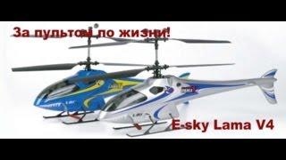 Тест-обзор радиоуправляемого квадрокоптера E-sky Lama V4