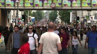 Il carnevale di Notting Hill invade le strade di Londra