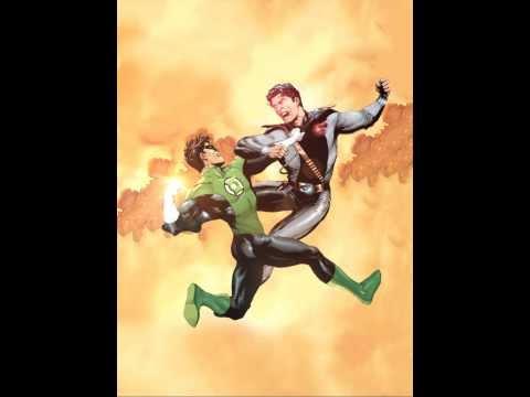 Graphic Novel Superman VS Green Lantern