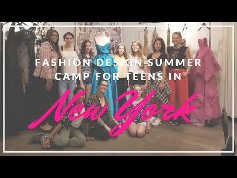 Teen Summer Fashion Camp: Learn to Sew, Design and Create Fashion