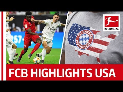 Bayern vs. Real Madrid, Arsenal & More - All Highlights from FC Bayern's USA Tour