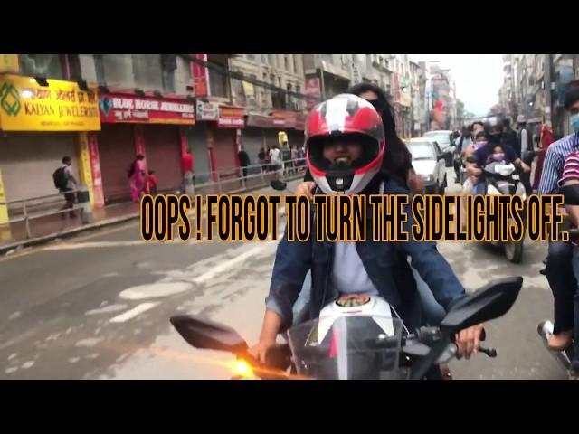NEPALIGIRL RIDING A BIKE  || KTM RC 200  || RIDE IN NEPAL || NEPALI GIRL MOTOVLOG