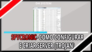 Spycronic- Configurar e Criar Server Download (TROJAN)