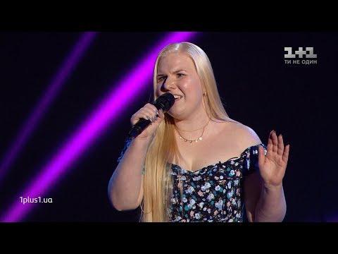 """Ksenia Bahchalova – """"Kryla"""" – Blind Audition – The Voice of Ukraine – season 9"""
