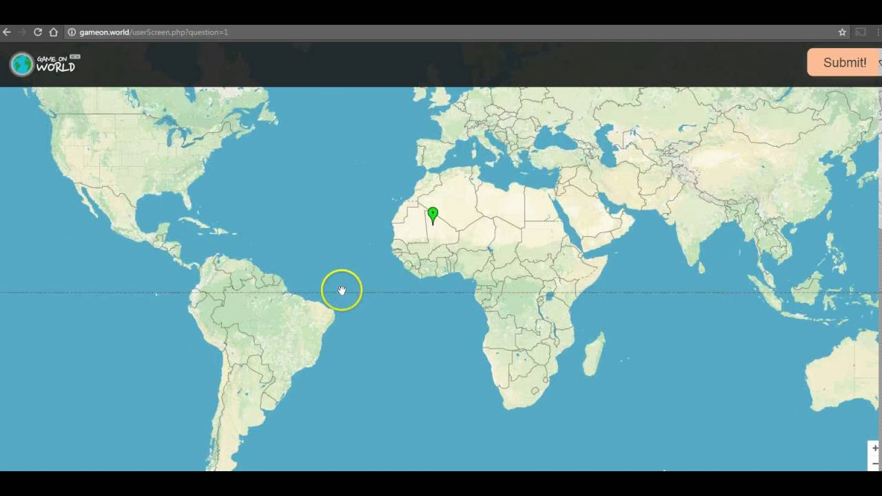 Game On World A Fun Geography Game YouTube - World geography quiz game