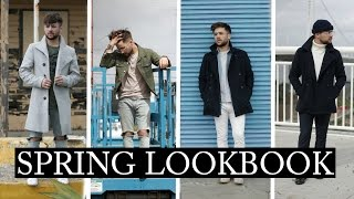 SPRING LOOKBOOK 2017 | Mens Outfit Inspiration | Street Style 2017