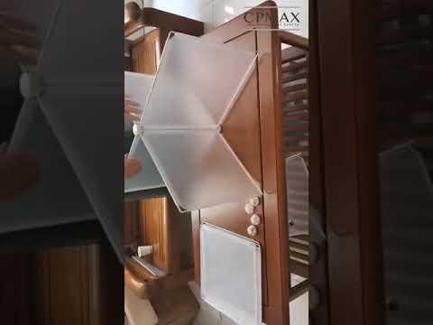 CPMAX 可組合式隔板 防飛沫擋板 餐廳隔板 幼兒園透明安全親膚樹脂 免打孔 餐桌面隔離板 開學防護板【H257】