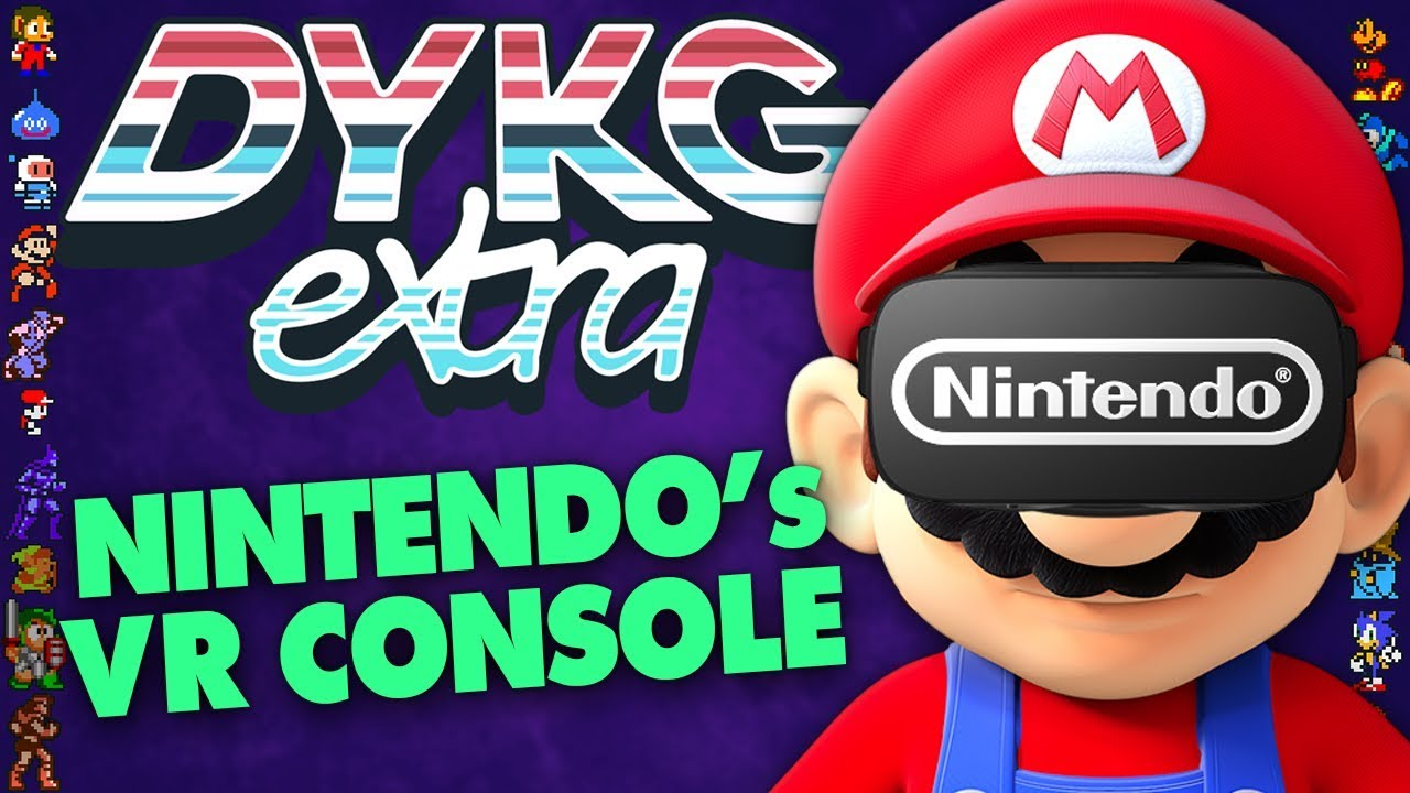 Nintendo's Unreleased VR Console [Cancelled Hardware] - Did You Know Gaming? extra Feat. Dazz