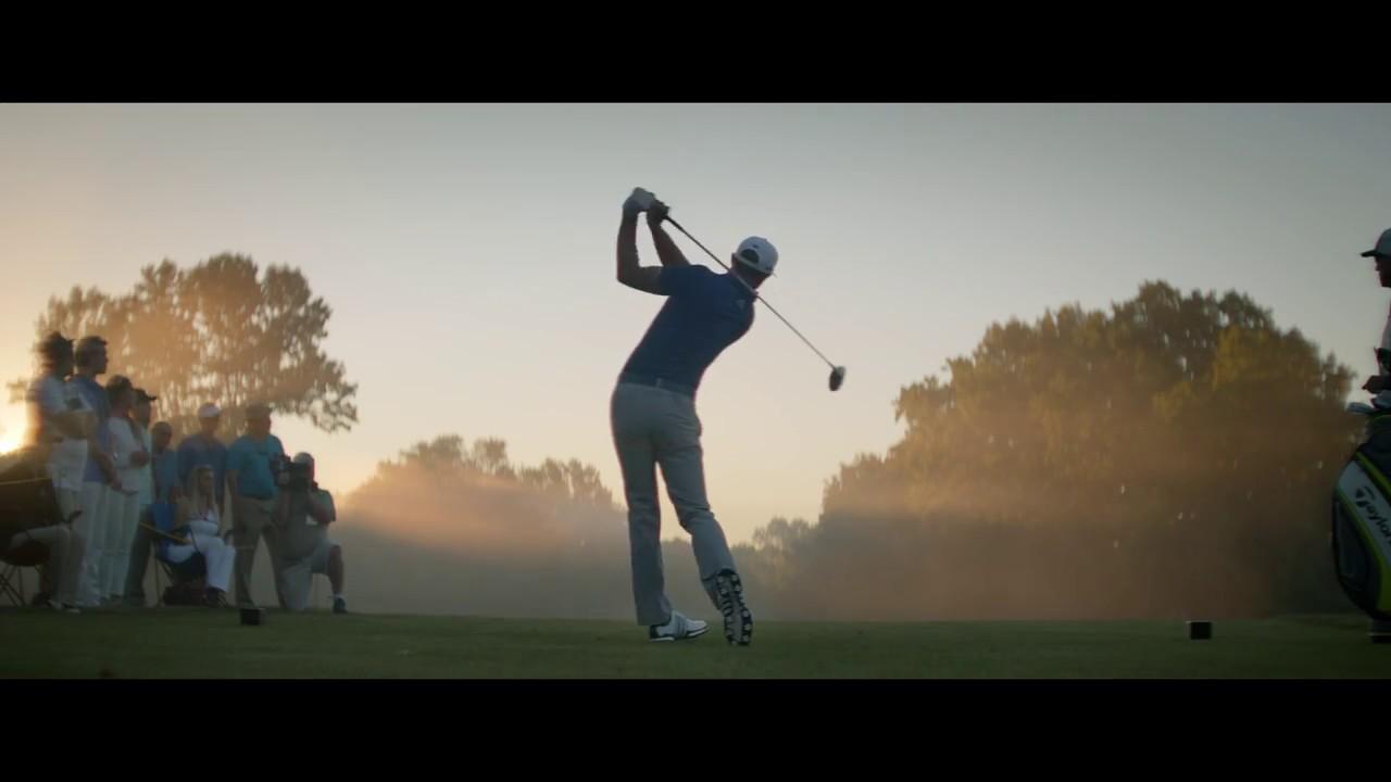 Inscribirse Contando insectos Al aire libre  Dustin Johnson - adidas Mens Tour360 Boost Golf Shoes - YouTube