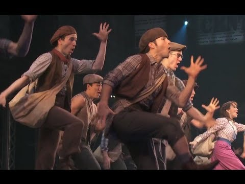 Newsies the Musical - Broadway Choreography and Performances 2012