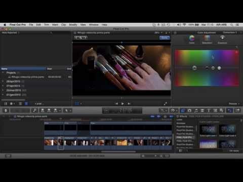 Come ottenere filmati dal Look cinematografico 2° parte ( Color correctin e  color gradient)