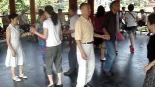 2009.08.23 北京 月壇公園square dance  Billlu2008     dosado